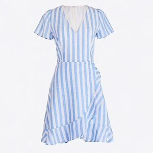 J. Crew Striped Summer Dress